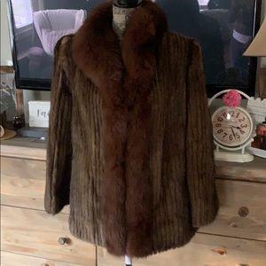 Saga Mink Jacket size L 🌷